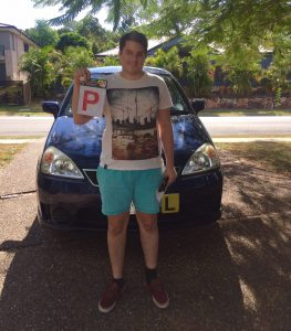 P plate,driving-lessons-brisbane