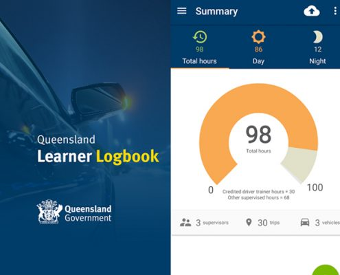 Queensland Learner Logbook App
